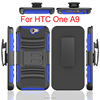 Robot stand case for HTC One A9 Tough grade ballistic anti-skid phone case for HTC One A9 hard plastic skin