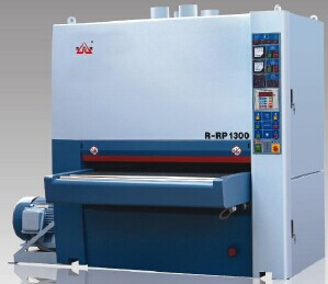 wide belt drum sander / double roller sanding machine for good sale
