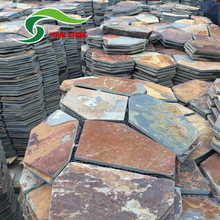 Irregularity rusty color stone products