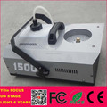 Foshan YiLin Christmas1500w Dmx Stage Vertical Fog Machine With Wireless Remote