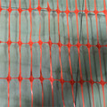 Raw material plastic orange safety net