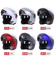 Hot Sale Safety Jiekai 105 Flip up Motorcycle Helmet Double Lens with Inner Sun Visor Full Face Helmet Casco Moto Racing Capacet