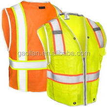 2017 top sale good quality cheap BLACK SERIES HEAVY DUTY ANSI CLASS 2 SAFETY VEST