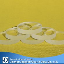 High temperature glass, heat resistant quartz glass plate for sight glasses
