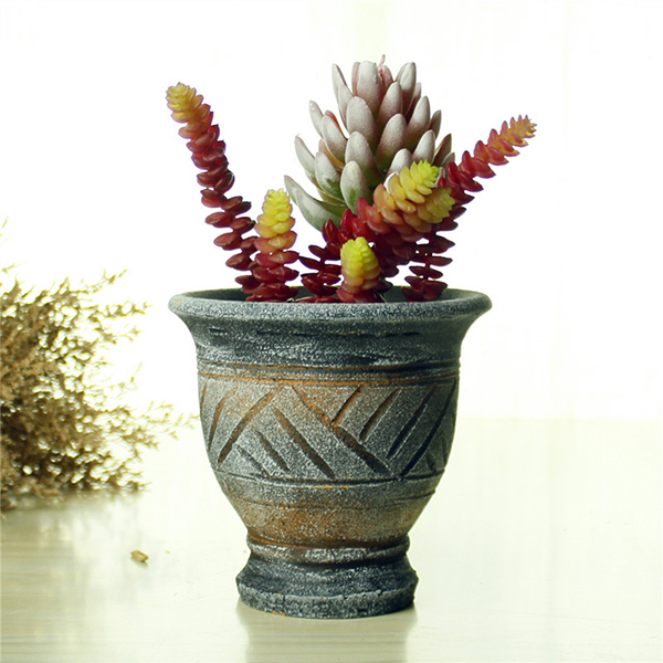 Wholesale outdoor hand shaping vintage ceramic terra cotta cheap flower pots