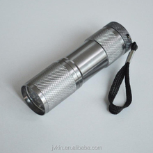 Wholesale 9led mini torch outdoor strong light flashlight camping hiking portable small torch
