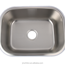 restaurant hotel used 5945A rectangular bowl vessel stainless steel kitchen sink for sale