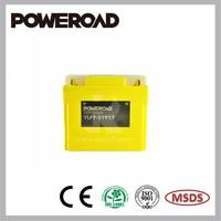 Poweroad Lithium ion Rechargeable Starting Battery for Motorcycle YLFP-51913