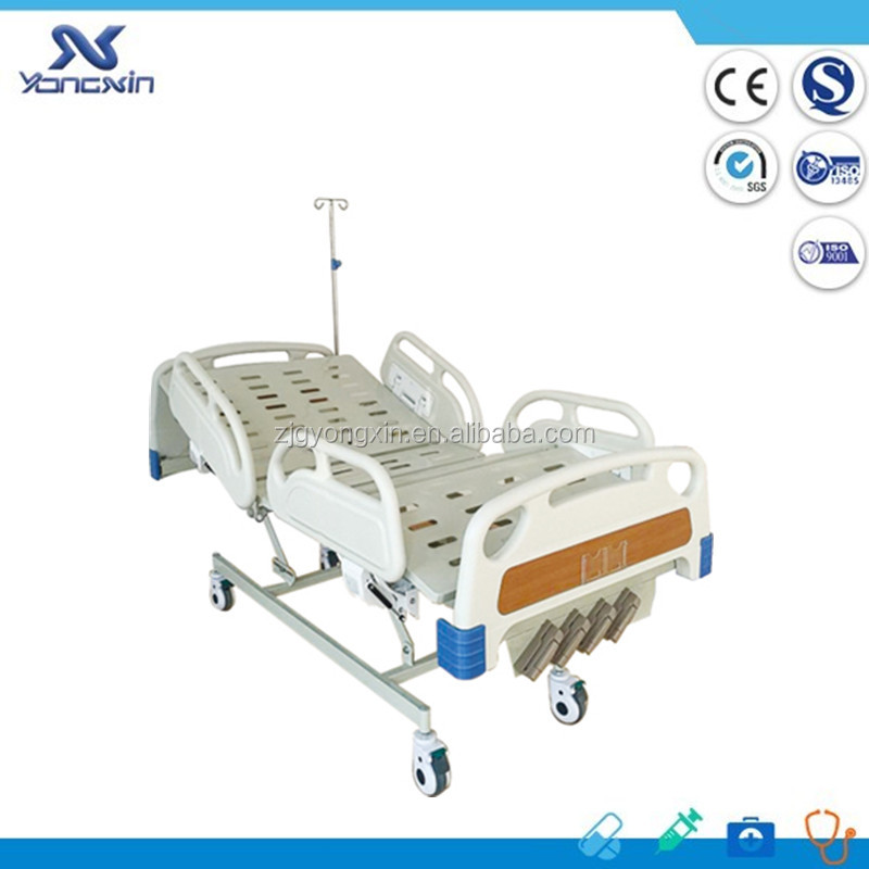 YXZ-C-004D Best Price!!! 5 Functions motorized icu hospital bed hill rom medical beds
