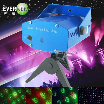 Red Green Color party rgb disco Laser Stage Lighting