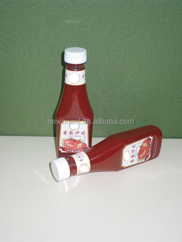 oem bottle ketchup,sauce bottle
