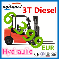 TOPGOOD 3 ton forklift tire, as good as tcm forklift mast