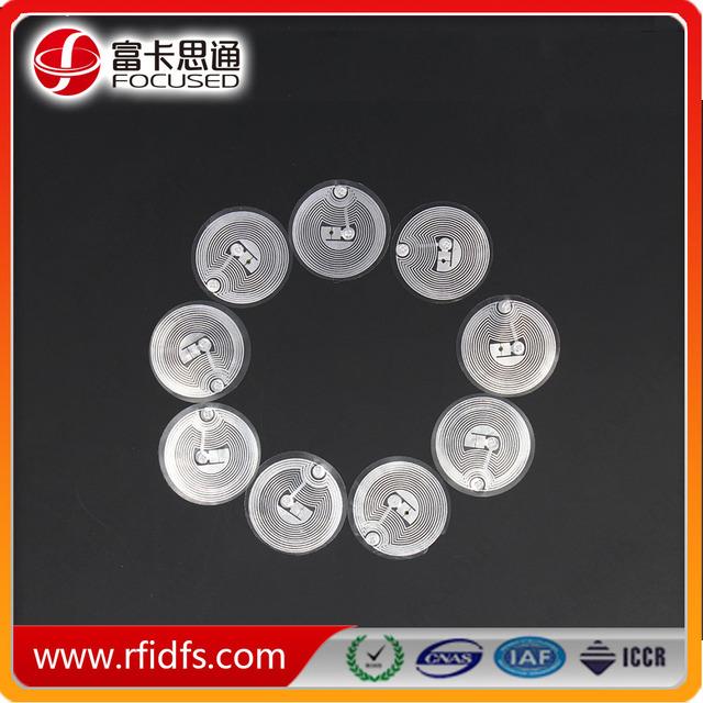 Paper Fragiel NTAG213 Security label RFID fragile nfc tag sticker