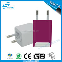 SCGK 35W 5V/2A 2-Port Rapid Charging Station / USB Travel Wall Charger / USB Desktop Charger, for 5V USB-Charged Devices