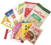 VMPET/LDPE Food Plastic Packaging Bag