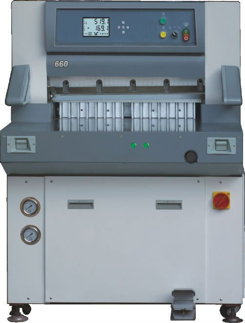 digital display hydraulic paper guillotine