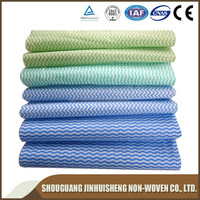 Spunlace microfiber nonwoven fabric for eyeglasses cleaning wipers