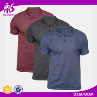 2016 Shandao Factory Direct-Selling Low Price Summer Casual 220g 100%Cotton Short Sleeve Non Brand Polo Shirts
