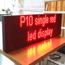 P10 Single Color P10 P10-1r Outdoor Led Display Module