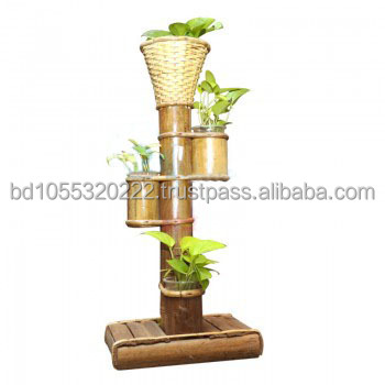 Bamboo Stand Vase