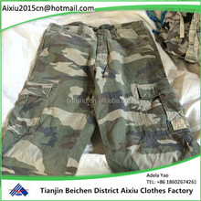 Mens Shorts,Men's used Cargo Shorts, Men Fashion Short Pants second hand clothing
