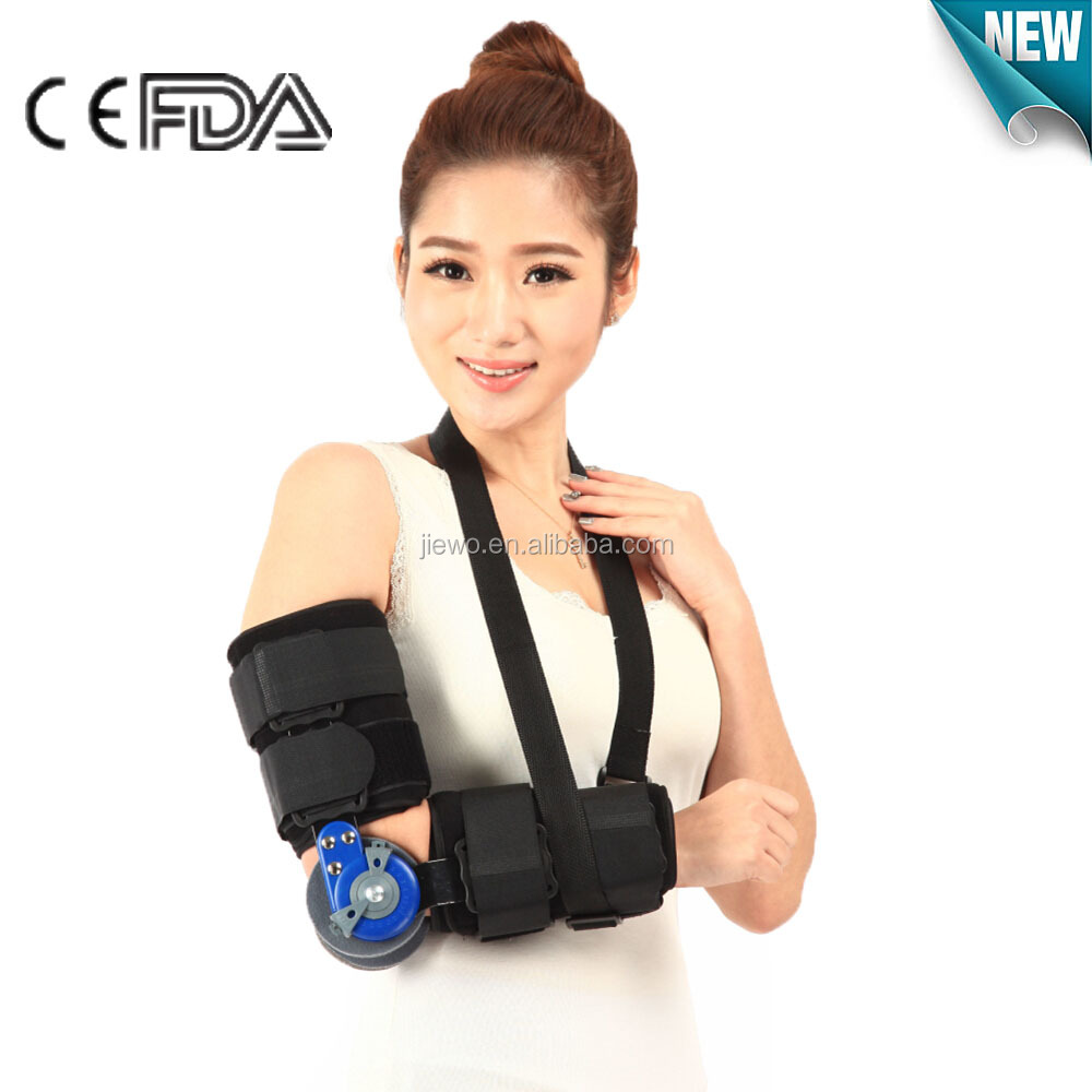 cheap and adjustable Orthopedic elbow orthosis brace made in china with CE,FDA