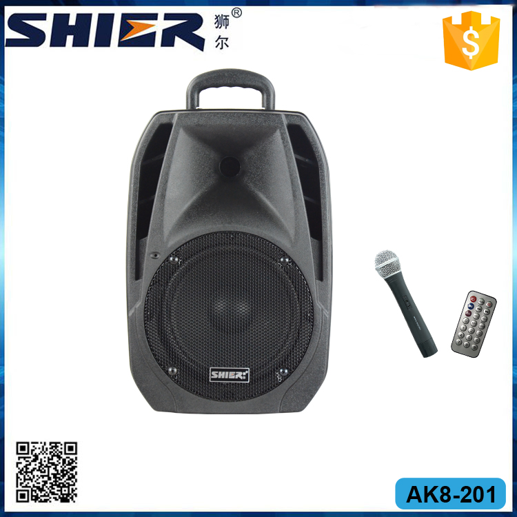 Hot Sale Portable Waterproof Bluetooth Speaker With Handle And Wheels