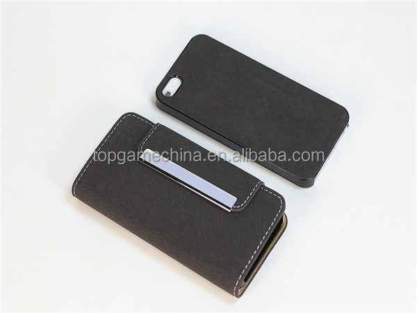 Phone waterproof case for iphone 5 5S detachable magnet leather case