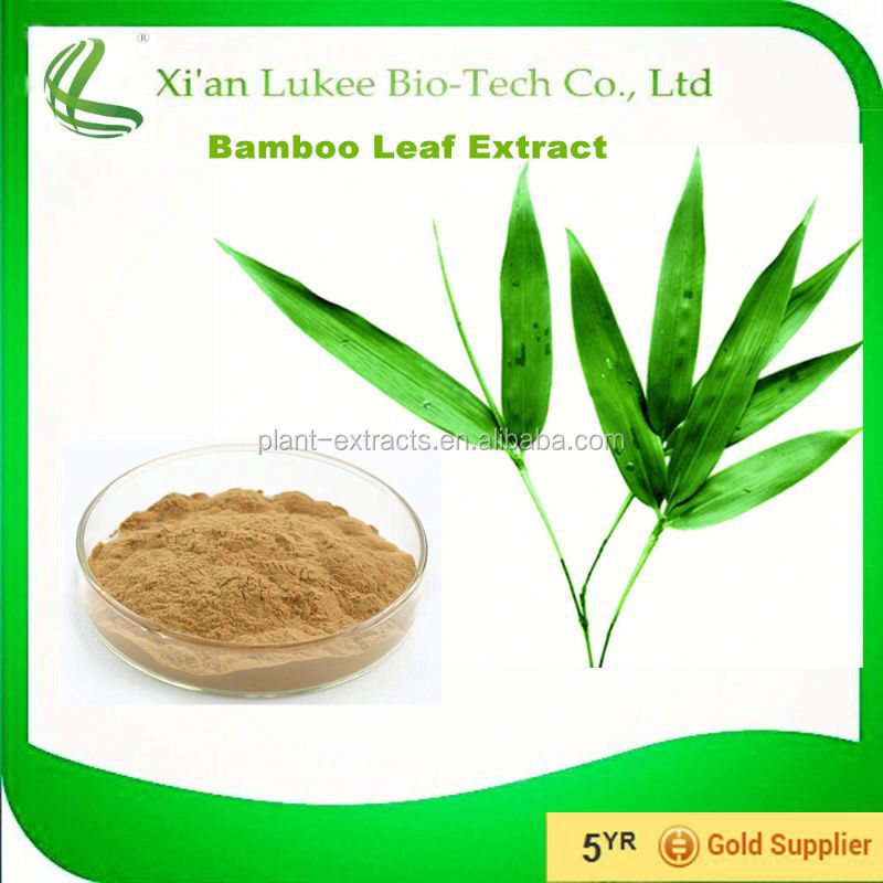 Cosmetic metarial Bamboo Leaf Extract 10% Bamboo Leaves Flavonoids