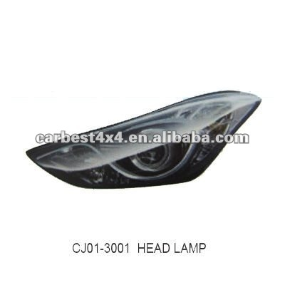 HEAD LAMP FOR HYUNDAI ELANTRA 2011 GOOD QUALITY