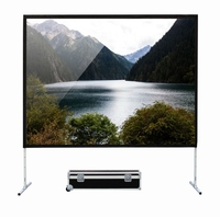 Bottom price antique easy folding projection screen