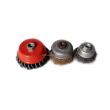 Toolzone M14 65mm Crimped cooper Wire Cup Brush