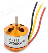 A2212-DC brushless motor, high speed brushless RC helicopter motor. High-performance RC models motor