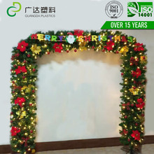 Guangda holiday decoration PVC /PE christmas arch