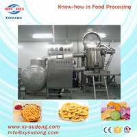 Potato vacuum fryer machine for french fries
