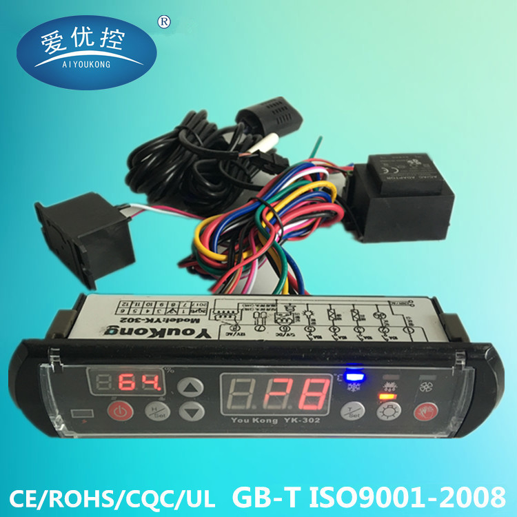 temperature and humidity controller for incubator YK-302
