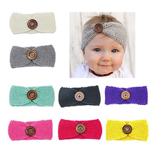 Baby Girls Toddler Elastic Headbands Turban Knot Hairband Headwear,Infant Kid's head Wrap