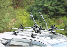 Suv Roof vertical bike rack for car