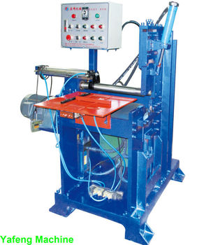 HYDRAULIC metal sheet round rolling machine