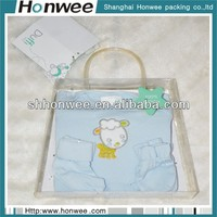 wholesale dust-proof clear eva carrier tote bags
