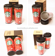 400ml Stainless Steel Tumbler Funny Cups Starbucks Coffee/Tea Mug Cup,paper insert thermos mug