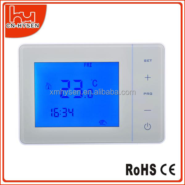 Floor Heating Touch Screen battery bolier temperature controller Thermostat