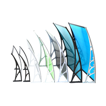 Best price high strength glass awnings canopies