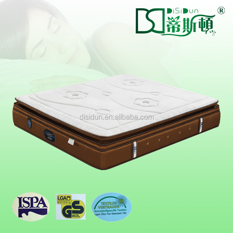 colchones en la india latex pillow top full medicated mattress - Jozy Mattress | Jozy.net