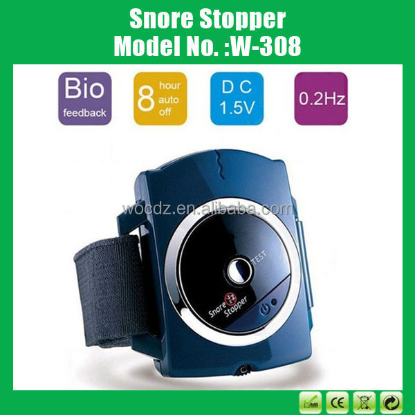 100% Effective Wrist Anti Snore Device/ Bracelet Snore Gone/ Snore Stopper Products