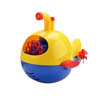 online shop funny submarine shape electric plastic soap bubble maker toy for kids