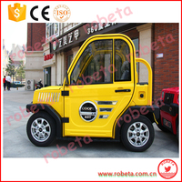 mobile two seats older peope and kids electric car