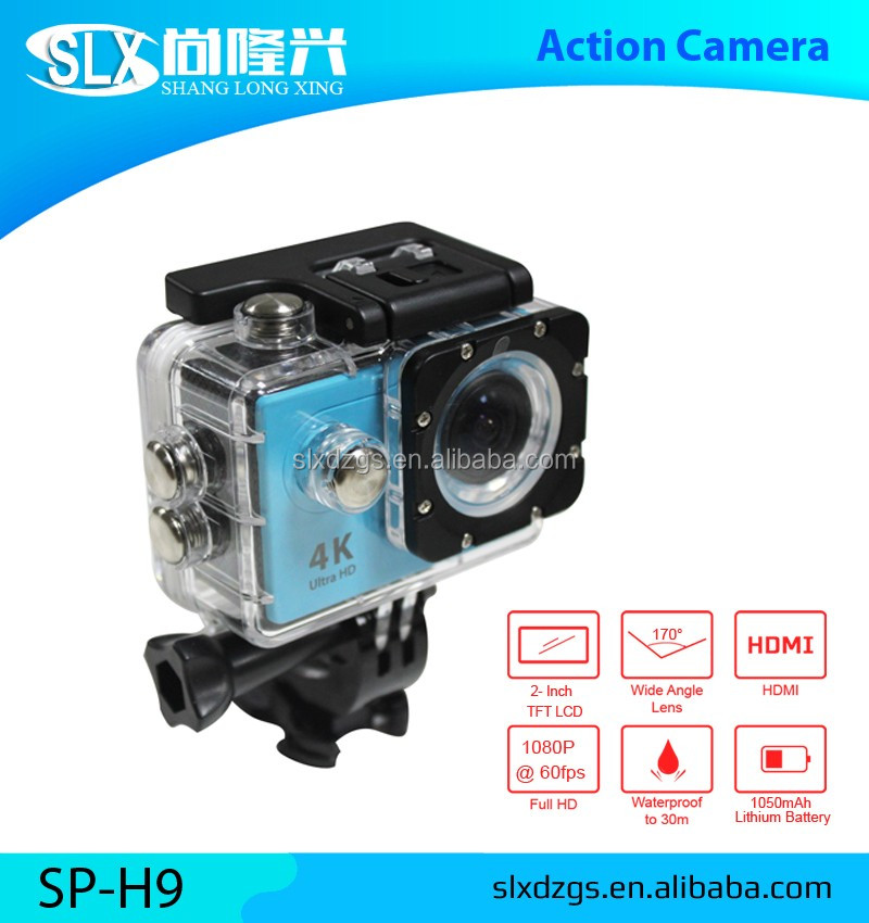 2016 New Full HD Wifi Sport H9 Camera Waterproof 2k 4k Action Camera Be Unique