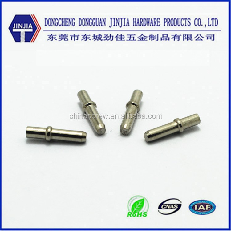 Dongguan direct supplier electronice connected nickel plated steel pin