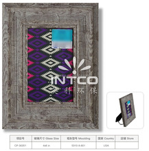 INTCO tabletop and wall plastic antique picture frame